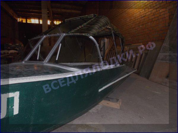 Казанка-1. <br>Тент ходовой для стекла с калиткой 25