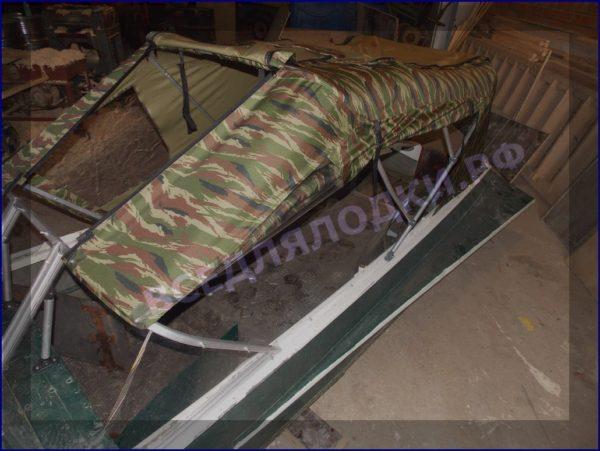Казанка-1. <br>Тент ходовой для стекла с калиткой 26
