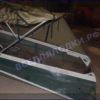 Казанка-1. <br>Тент ходовой для стекла с калиткой 83