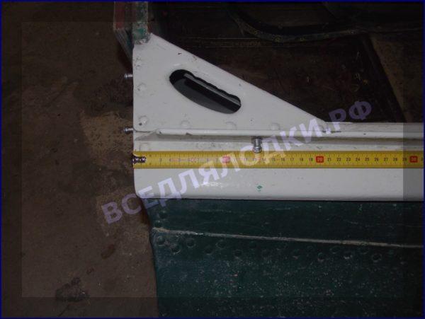 Казанка-1. <br>Тент ходовой для стекла с калиткой 30
