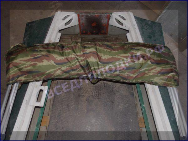 Казанка-1. <br>Тент ходовой для стекла с калиткой 32