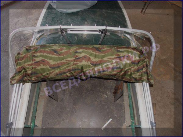 Казанка-1. <br>Тент ходовой для стекла с калиткой 34