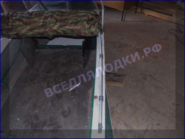 Казанка-1. <br>Тент ходовой для стекла с калиткой 36