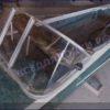 Казанка-1. <br>Тент ходовой для стекла с калиткой 91