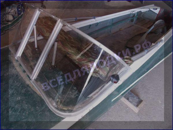 Казанка-1. <br>Тент ходовой для стекла с калиткой 37