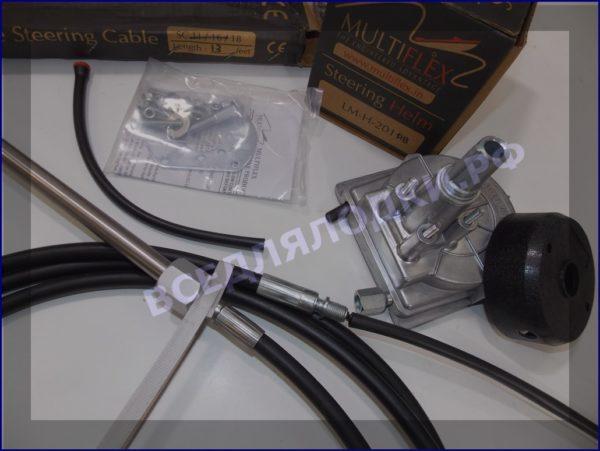 Рулевой редуктор LMH-201 А В (T-67) (черная накладка) 5