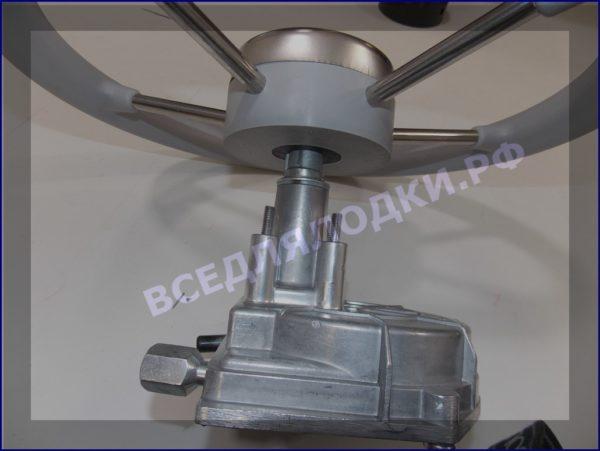 Рулевой редуктор в металлическом корпусе LMH-201 А В (T-67) (белая накладка) 1