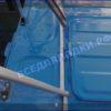 Казанка 5М 5М2,3,4. Стекло в рамке с калиткой для выхода на нос 57