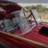Казанка-5.<br>Стекло в рамке с калиткой для выхода на нос 47