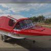 Казанка-5.<br>Стекло в рамке с калиткой для выхода на нос 54