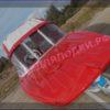 Казанка-5.<br>Стекло в рамке с калиткой для выхода на нос 55