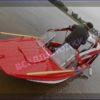 Казанка-5.<br>Стекло в рамке с калиткой для выхода на нос 61