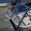 Казанка-5.<br>Стекло в рамке с калиткой для выхода на нос 42