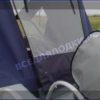 Воронеж. <br>Тент ходовой для стекла с калиткой 30
