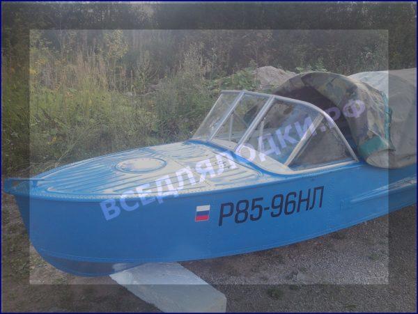 Казанка-1, Казанка-М, стекло на лодку