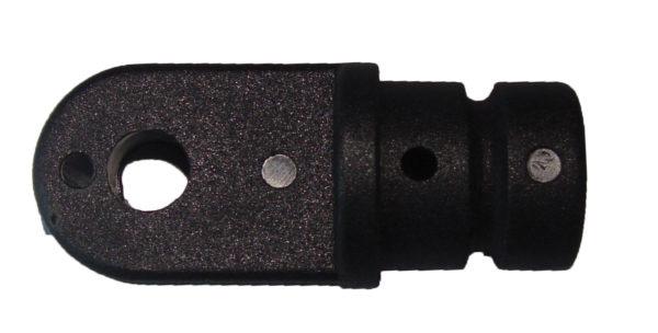 Наконечник стойки. Диам. 22 мм. (пласт, чёрн) 1