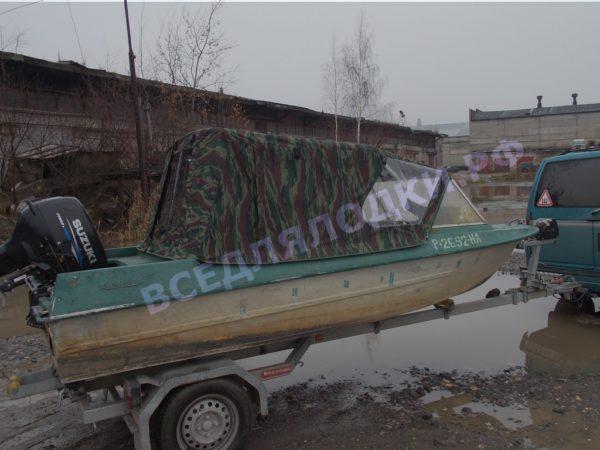 Крым.<br>Тент на штатное стекло и штатные дуги 3