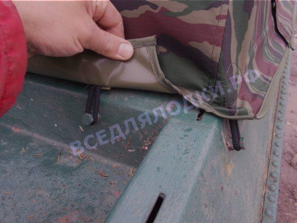 Крым.<br>Тент на штатное стекло и штатные дуги 8