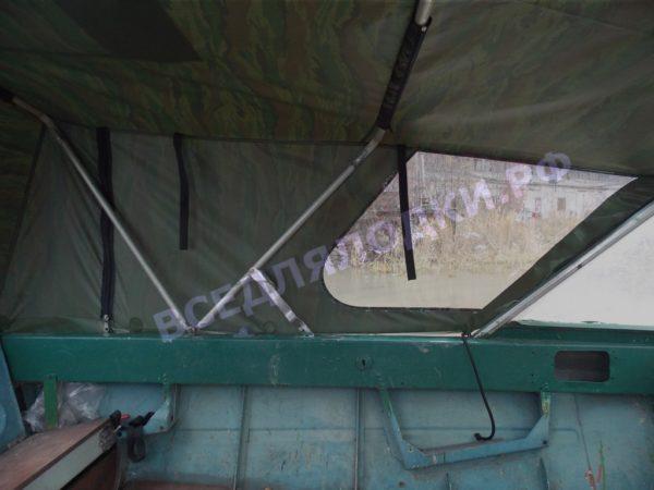 Крым.<br>Тент на штатное стекло и штатные дуги 11