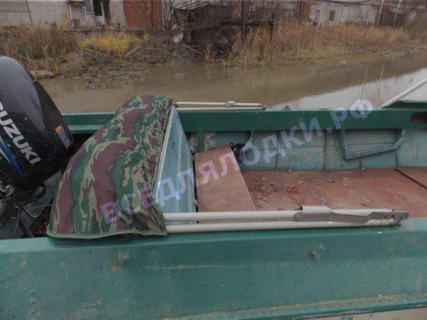 Крым.<br>Тент на штатное стекло и штатные дуги 16