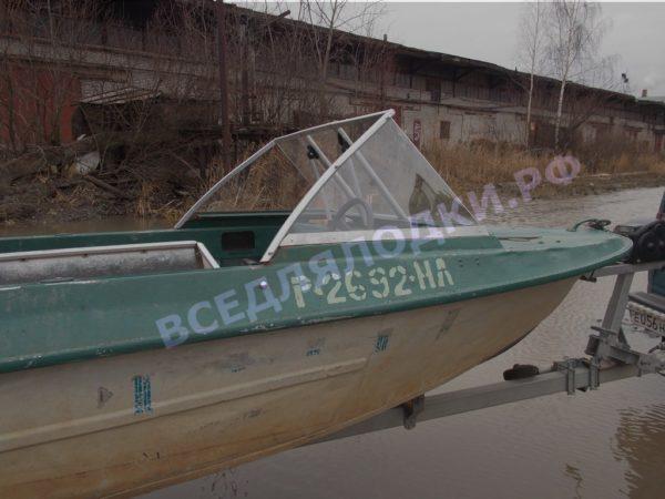 Крым. <br>Стекло в рамке с калиткой для выхода на нос 6