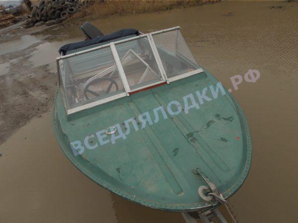 Крым. <br>Стекло в рамке с калиткой для выхода на нос 7