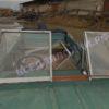 Крым. <br>Стекло в рамке с калиткой для выхода на нос 49