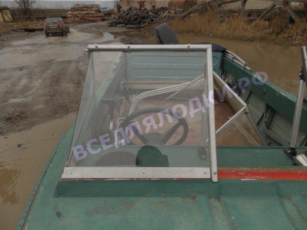 Крым. <br>Стекло в рамке с калиткой для выхода на нос 23