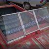 Крым. <br>Стекло в рамке с калиткой для выхода на нос 35