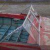 Крым. <br>Стекло в рамке с калиткой для выхода на нос 37