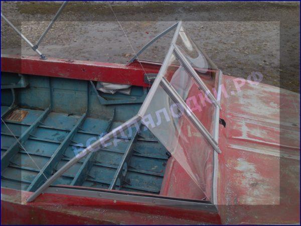 Крым. <br>Стекло в рамке с калиткой для выхода на нос 10
