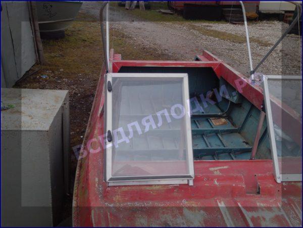 Крым. <br>Стекло в рамке с калиткой для выхода на нос 15