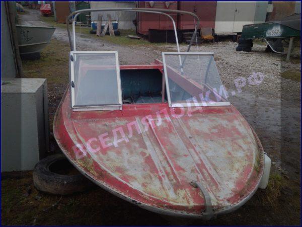 Крым. <br>Стекло в рамке с калиткой для выхода на нос 17