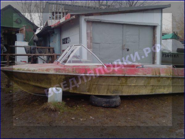 Крым. <br>Стекло в рамке с калиткой для выхода на нос 18