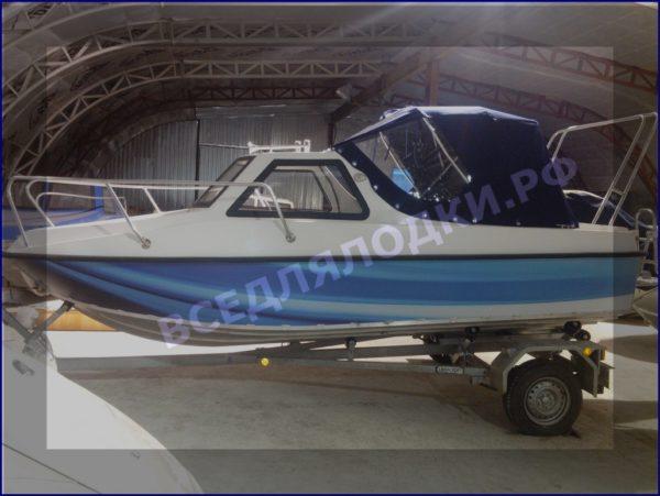 """Тент ходовой """"Fiberboat-515HT"""" 5"""