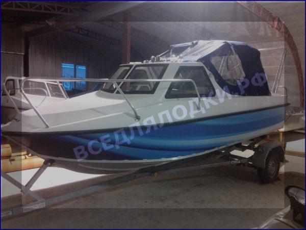"""Тент ходовой """"Fiberboat-515HT"""" 6"""