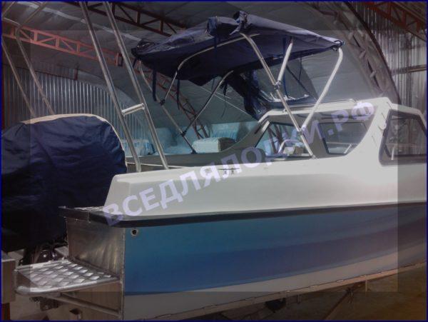 """Тент ходовой """"Fiberboat-515HT"""" 11"""