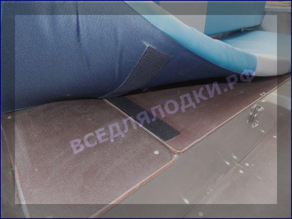 Вятьбот 430М. (Wyatboat-430M). Подушки на задний рундук. 6