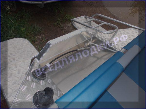 Вятьбот 430М. (Wyatboat-430M). Подушки на задний рундук. 8