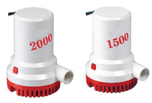 Осушительная помпа 1500GPH(112л/мин) 1