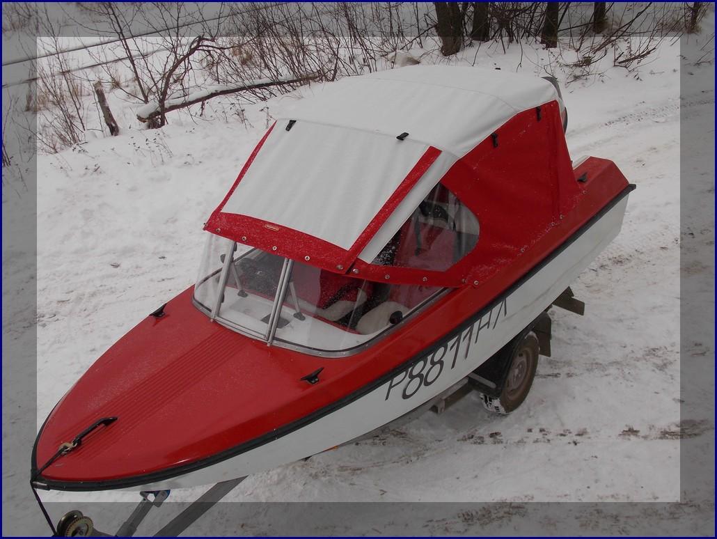 Лодка приобрела законченный вид. 7 футов под килем!