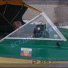 Крым-М. Стекло в рамке с калиткой для выхода на нос 26