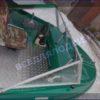 Крым-М. Стекло в рамке с калиткой для выхода на нос 36