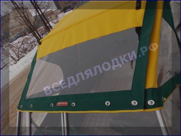 Крым-М. Стекло в рамке с калиткой для выхода на нос 21