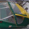 Крым-М. Стекло в рамке с калиткой для выхода на нос 46