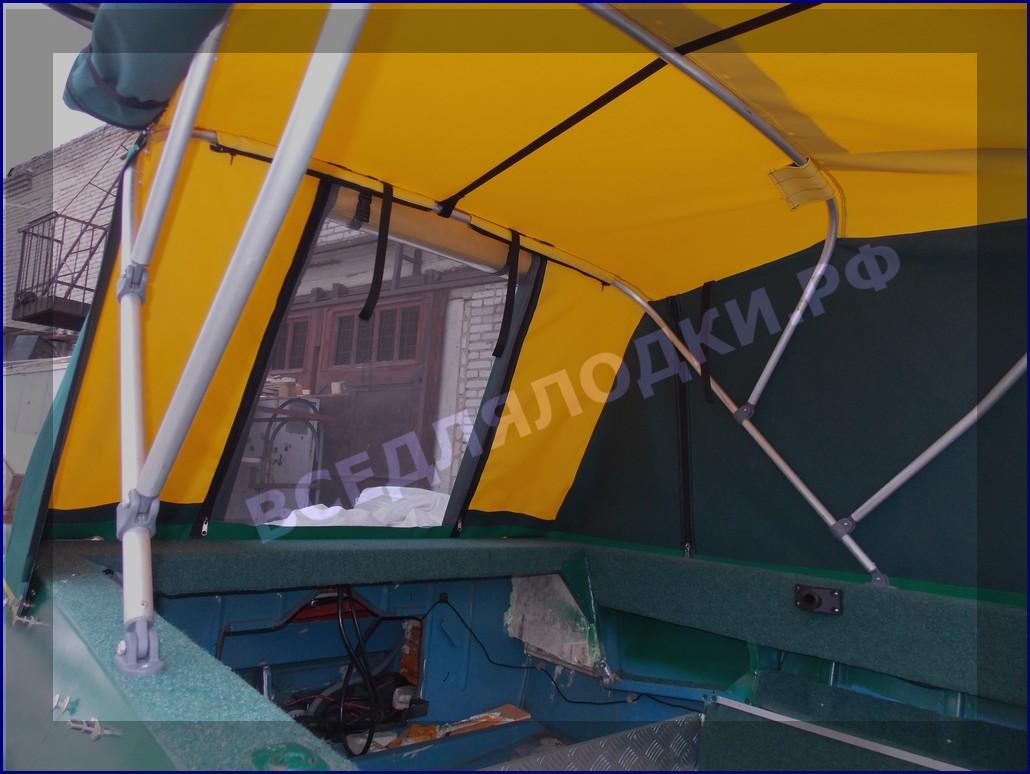 Крым-М. Тент для стекла с калиткой. Дуги.