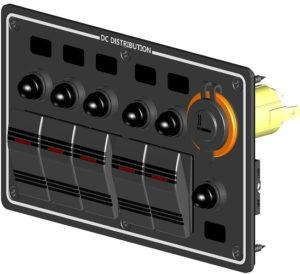 Панель электрическая горизонтальная