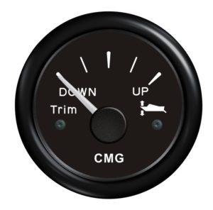 Трим-указатель с горизонтальной шкалой