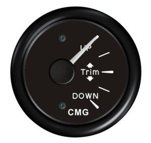 Трим-указатель с вертикальной шкалой