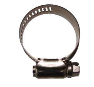 Хомут обжимной 44-56 мм. (нерж)